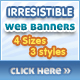 Irresistible Web Banner Templates - GraphicRiver Item for Sale