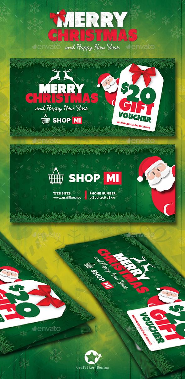 Christmas Gift Card Templates
