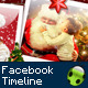 Christmas facebook timeline - Santa Claus