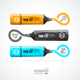 Infographics, Icon and Marker. Vector