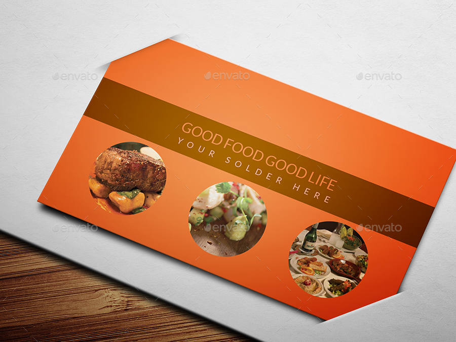 Restaurant Business Card Template 133 by NewDesigner1985