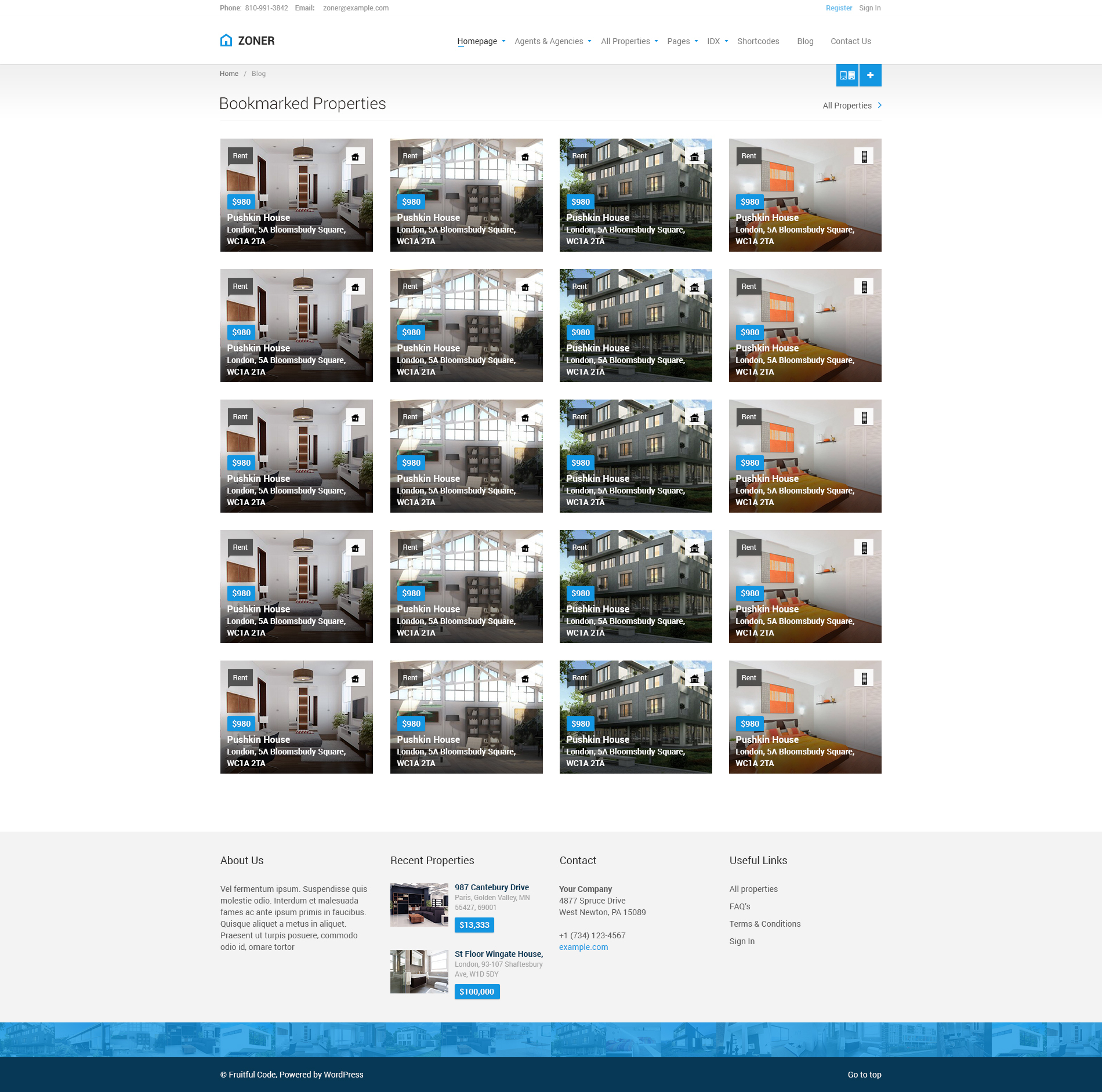zoner real estate psd template by fruitfulcode themeforest zoner real estate psd template