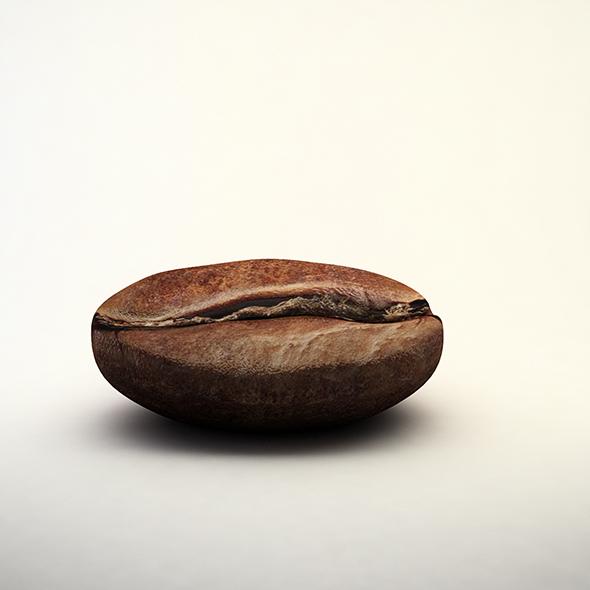 coffee bean - 3DOcean Item for Sale