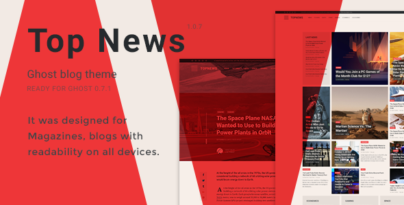 Top News - Magazine Themes