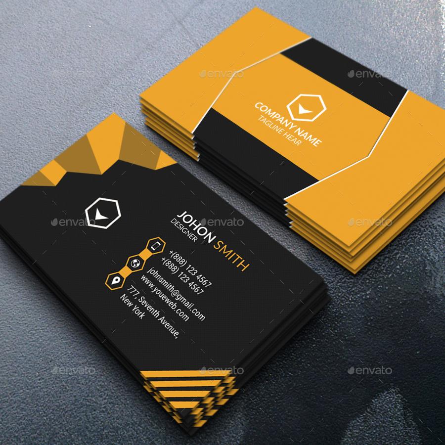 Modern Business Card By Saifulislam GraphicRiver