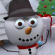 Snowman - Book Open