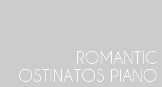Romantic Ostinatos Piano