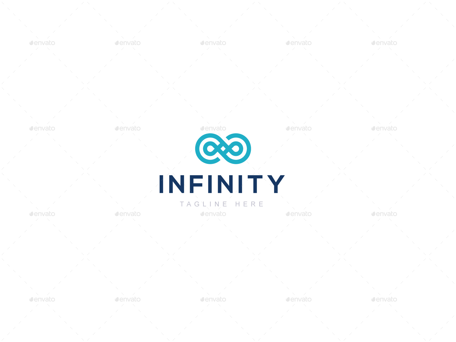 Infinity Logo Template By Creartics Graphicriver
