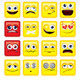 Square Smileys Vector - GraphicRiver Item for Sale