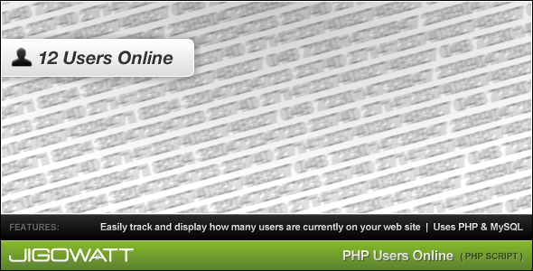 CodeCanyon PHP Users Online 49938