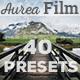 Aurea FILM Lightroom Presets