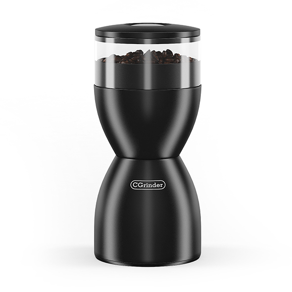 Electric Coffee Grinder - 3DOcean Item for Sale