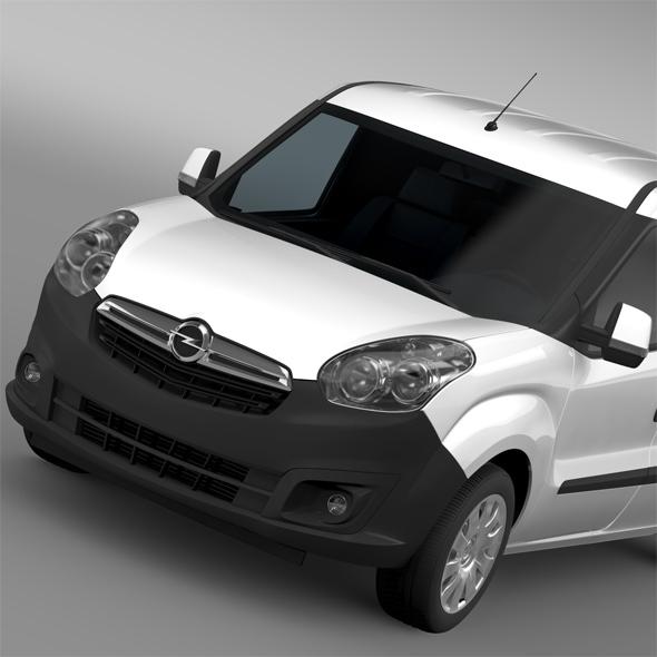 Opel Combo LWB Cargo D 2015 - 3DOcean Item for Sale