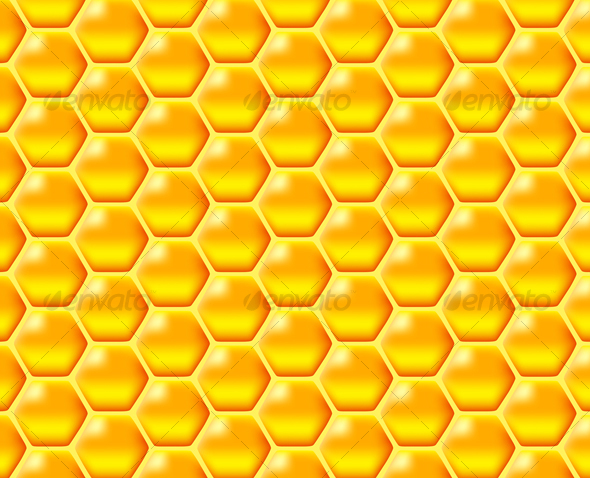 Graphic River honeycomb Vectors -  Objects  Food 53664