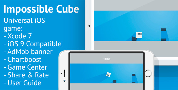 Impossible Cube - AdMob & Chartboost Ads - CodeCanyon Item for Sale