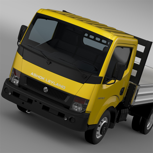 Ashok Leyland Partner Tipper 2015 - 3DOcean Item for Sale