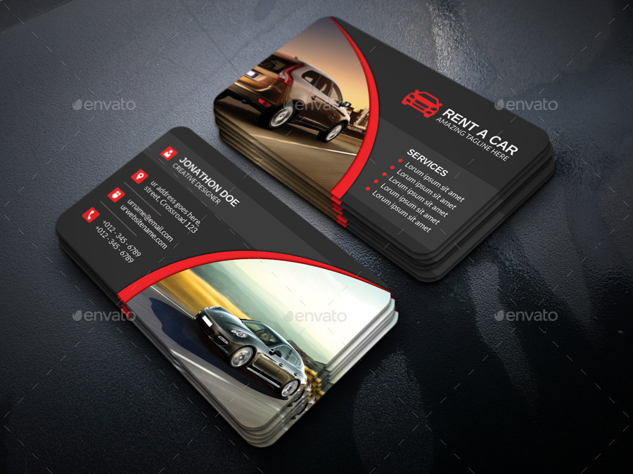 Design Your Own Automotive Business Cards Gallery - Card Design And ...