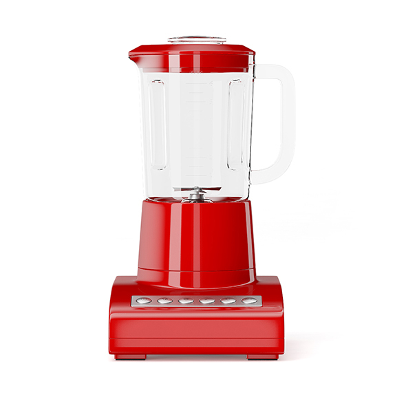 Red Countertop Blender - 3DOcean Item for Sale