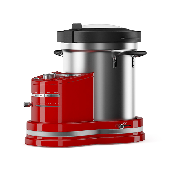 Red Food Processor - 3DOcean Item for Sale