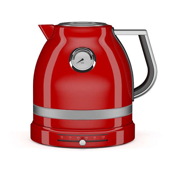 Red Electric Kettle By Cgaxis 3docean