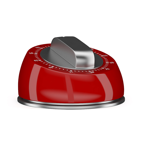 Red Kitchen Timer - 3DOcean Item for Sale