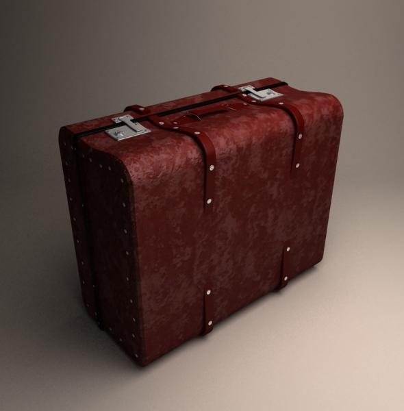 Travel handbag - 3DOcean Item for Sale