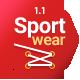 Sportwear - Sport Ecommerce PSD Template