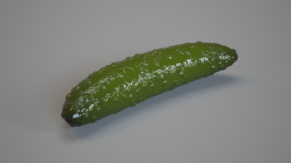 Pickles Cucumber - 3DOcean Item for Sale