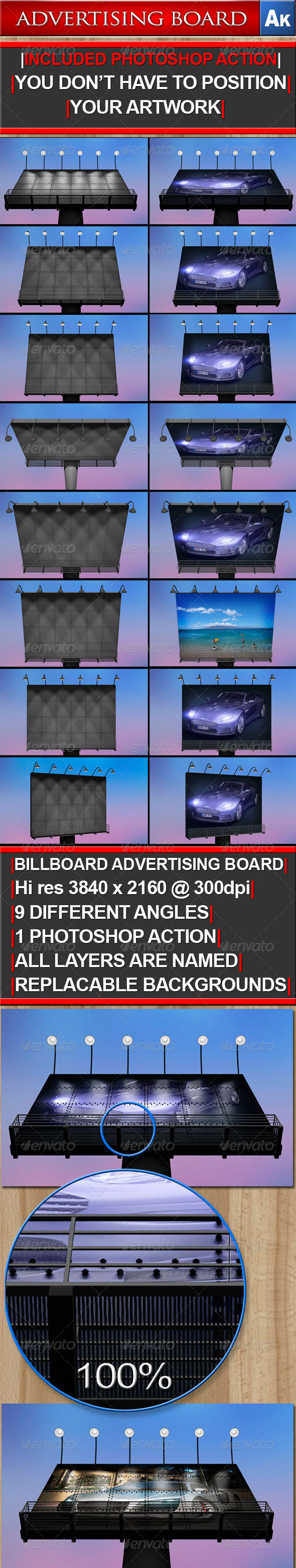 GraphicRiver Billboard Advertising Board 161669