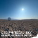 desert exterior render setup c4d(physical sky)