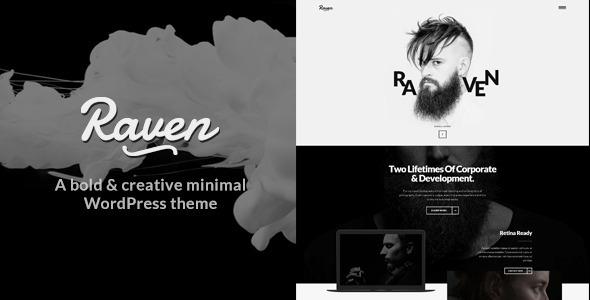 Download Raven -  Minimal WordPress Theme nulled download