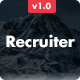Recruiter - Responsive Email + Online Builder