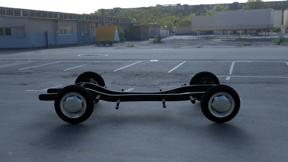 Mercedes Benz 190SL Chassis - 3DOcean Item for Sale