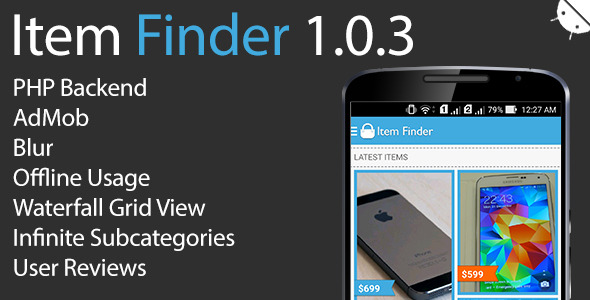 Download Item Finder MarketPlace Full Android App v1.0.3 nulled download
