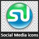 Social Media Icon Set - GraphicRiver Item for Sale