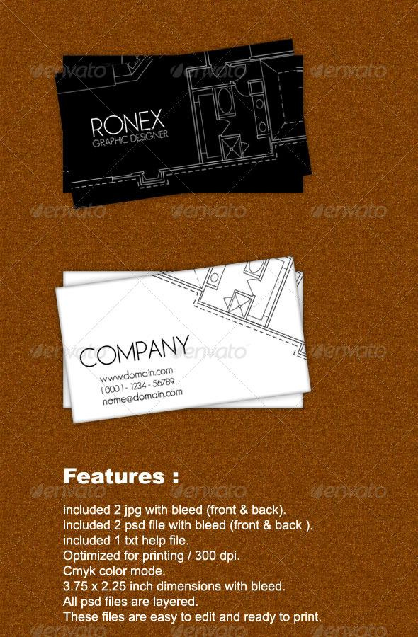 GraphicRiver Architec Business Card 161729