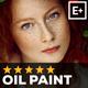 Realistic Oil Paint Photoshop Action