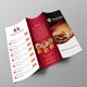 Restaurant Food Menu Tri Fold