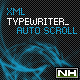 XML Typewriter TextEffect AutoScroll - ActiveDen Item for Sale