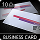 Stellar Business Card 10.0 - GraphicRiver Item for Sale