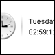 Simple bilingual & editable date/time widget - ActiveDen Item for Sale