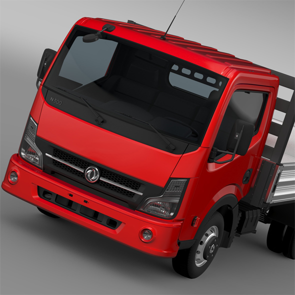 DongFeng N300 Captain Tipper 2015 - 3DOcean Item for Sale