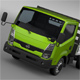Nissan Atlas Chassi Tipper 2015