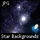 Star Backgrounds - 2 Backgrounds, 7 Colors Each - GraphicRiver Item for Sale