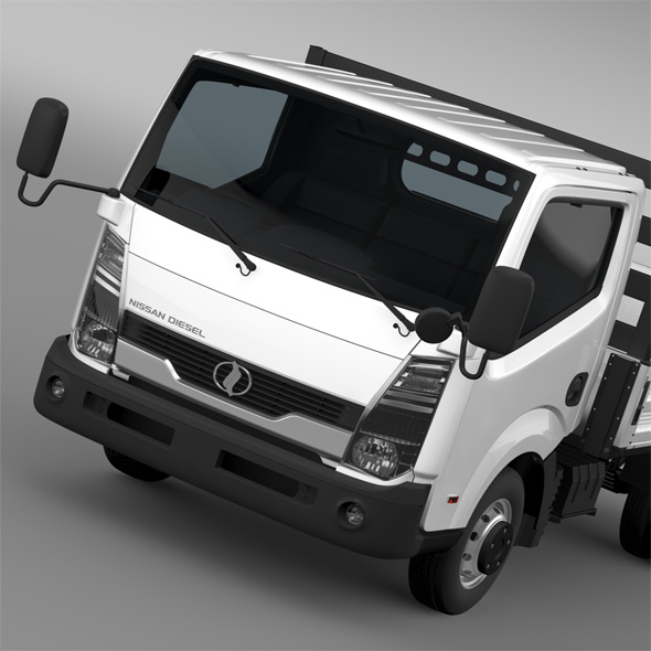 Nissan Condor Tipper 2012 - 3DOcean Item for Sale