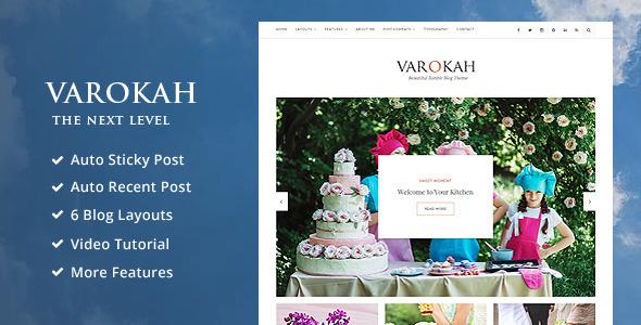 Varokah - Personal Tumblr Blog Theme