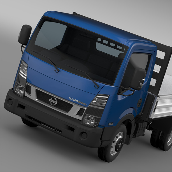 Nissan NT400 Tipper 2016 - 3DOcean Item for Sale