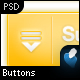 20 Custom Smooth Buttons w/Icons in 6 Colors - GraphicRiver Item for Sale