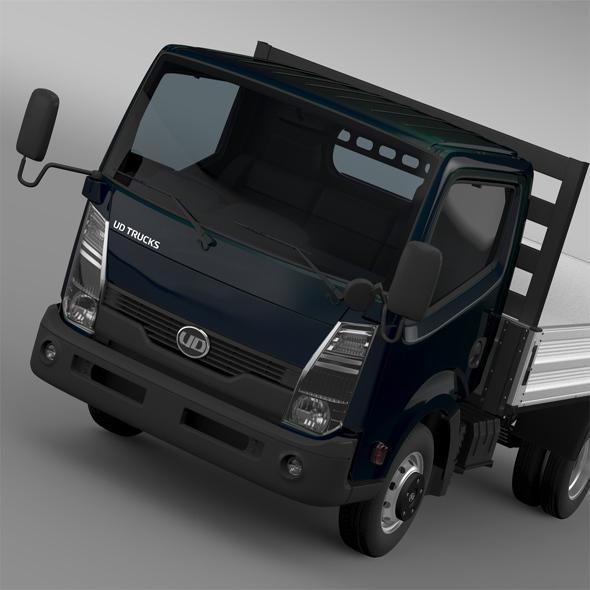 UD Condor Light Tipper 2015 - 3DOcean Item for Sale