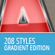 208 Photoshop Styles - Gradient Edition